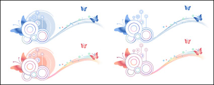 Link toButterfly pattern and material element vector