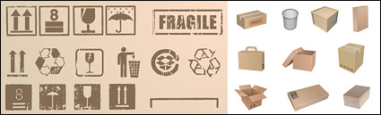 Link toPackaging and packaging commonly used symbol