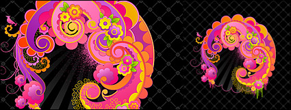Link toVector trend lovely patterns-2