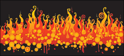 Vector material fire