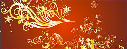 Link toGold gorgeous patterns vector-3