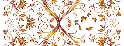 Link toVector gorgeous patterns background material