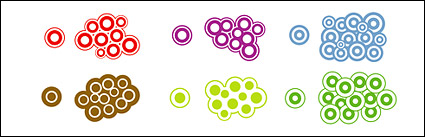 Link toVector material composition of circular elements