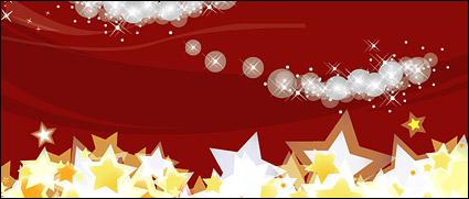 Link toFantasy christmas vector background material