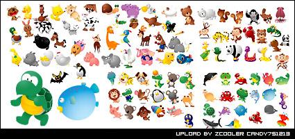 Link toTaiwan vector animals daquan vector material
