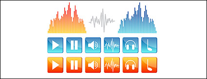 Link toSound elements of vector icon